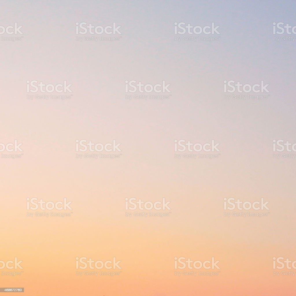 Blurred background pastel sky stock photo