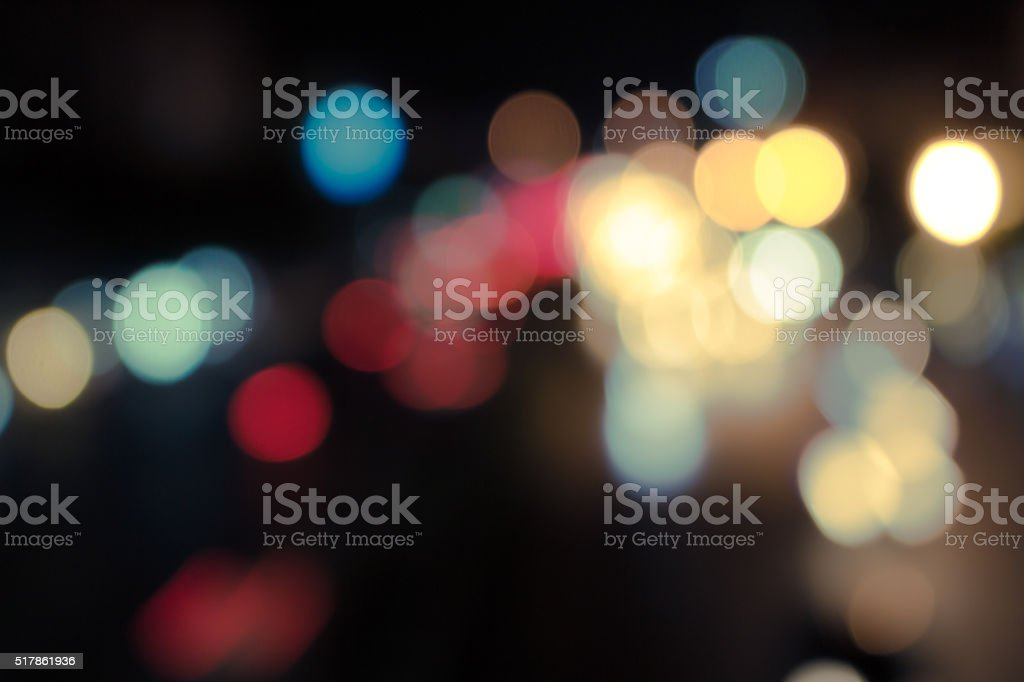 Blurred background scene at dawn from above stock photo