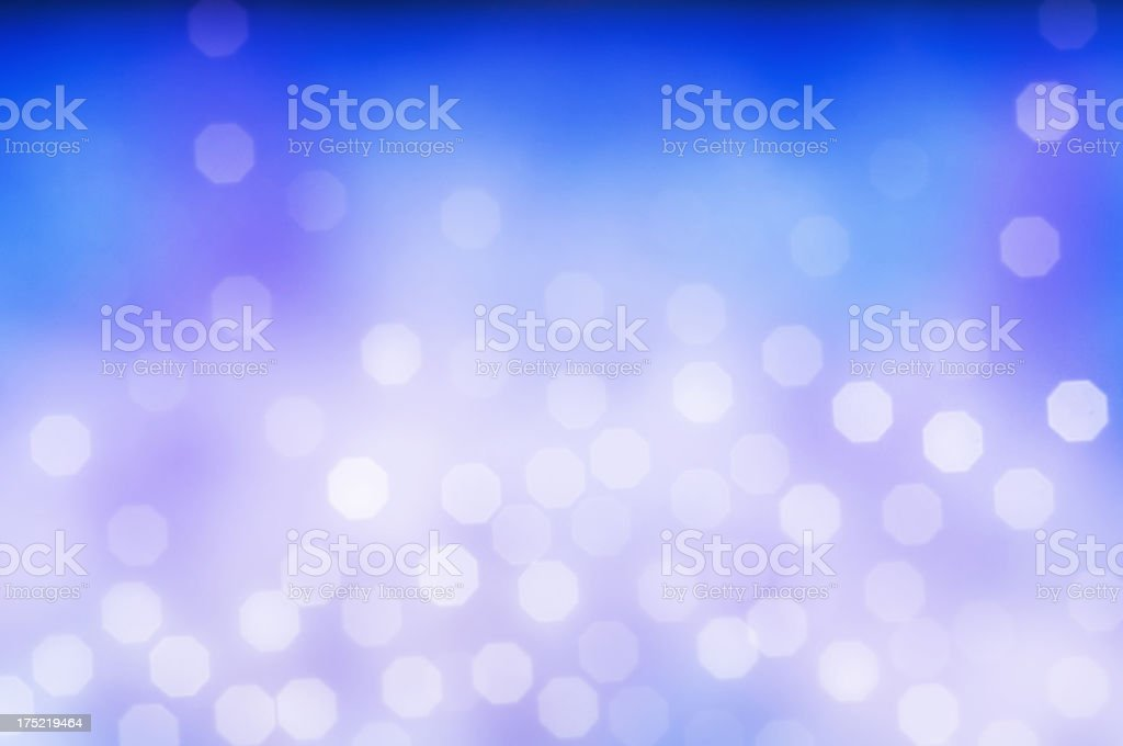 Blurred blue and magenta sparkles royalty-free stock photo