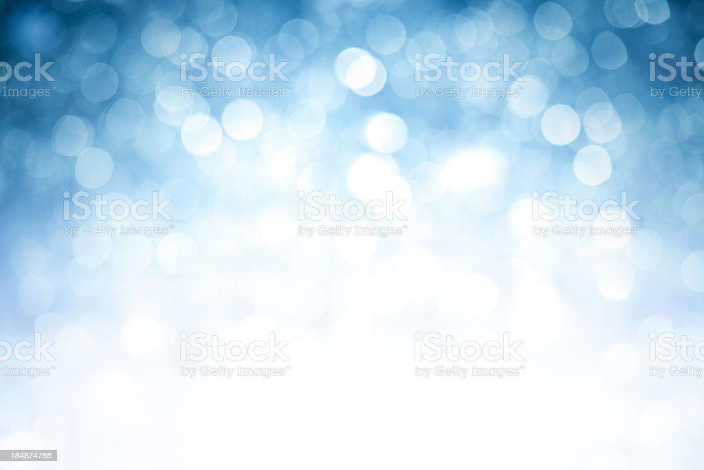Verschwommene blaue Licht Hintergrund mit dunkler oberen Ecken Lizenzfreies stock-foto
