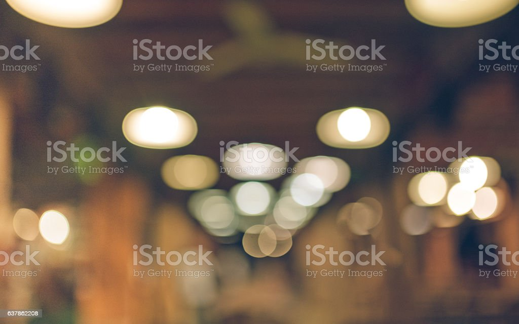 Blurred bokeh picture stock photo