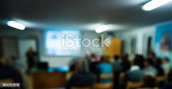 istock Blurred Business Conference 934251876