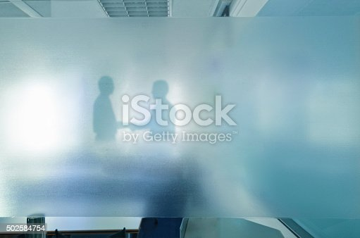 istock Blurred business success 502584754