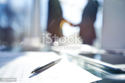 istock Blurred business success 520704954