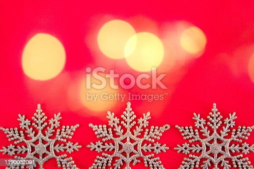 530427918 istock photo Blurred christmas background decoration. 1190032091