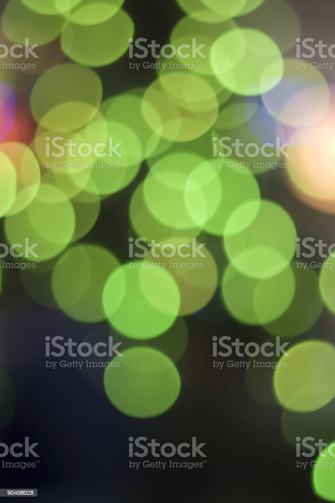 Blurred christmas background royalty-free stock photo