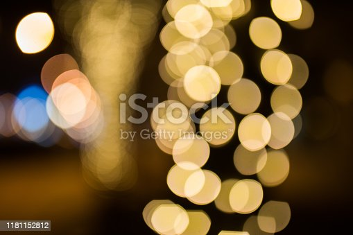 istock Blurred Christmas lights 1181152812