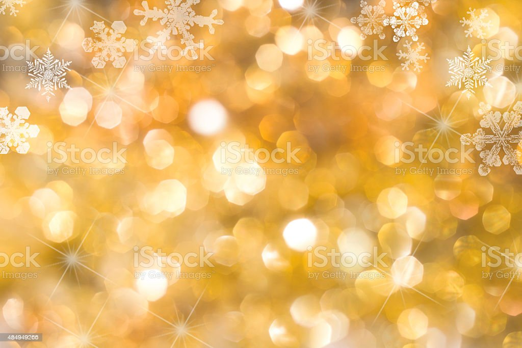 Blurred Christmas Lights royalty-free stock photo