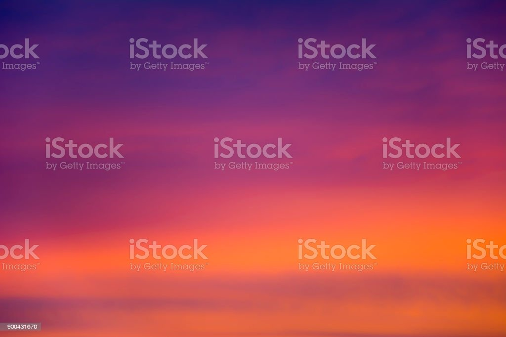 Blurred clouds lit by the sun. stock photo