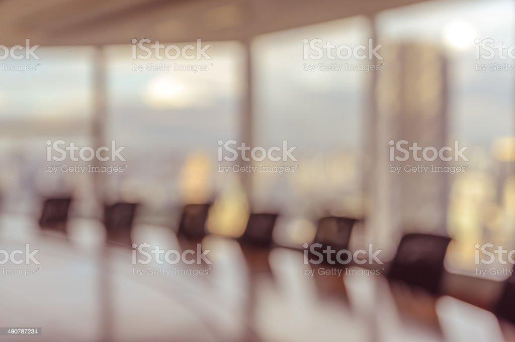 Verschwommene Konferenzraum für Hintergrund – Foto