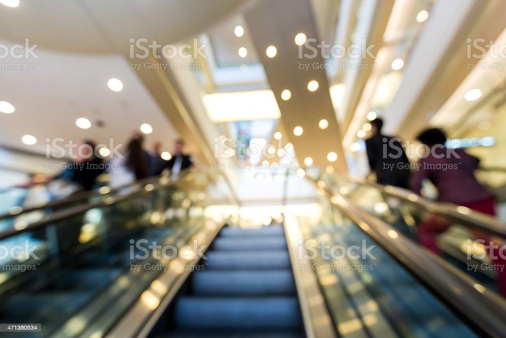 Verschwommene defocus Einkaufszentrum Hintergrund – Foto