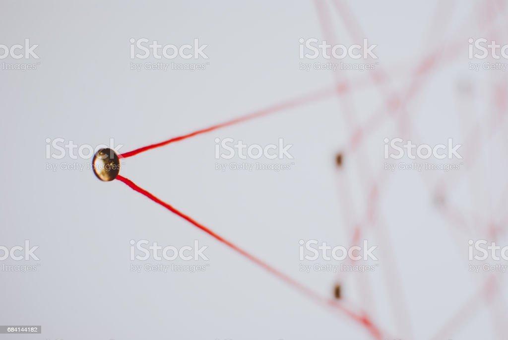 Intreepupil achtergrond wazig. Сoncept van netwerk, sociale media, internet, teamwerk royalty free stockfoto