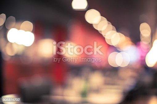 Blurred food court background