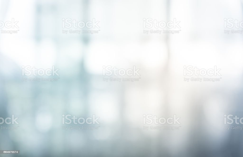 Blurred glass wall building background.