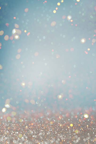 Blurred glitter  lights background stock photo