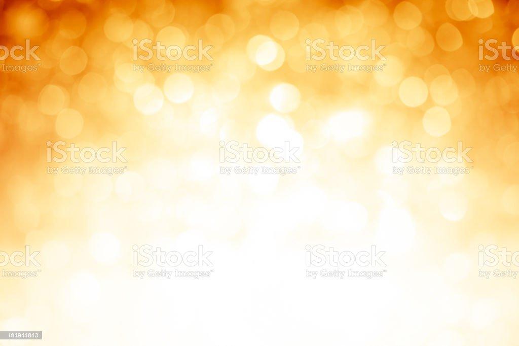 Niewyraźne Złoty błyszczy tło z ciemniejszą kolor Góry rogi – zdjęcie