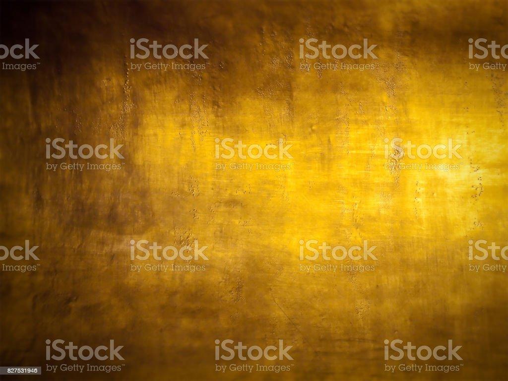 Blurred golden background stock photo