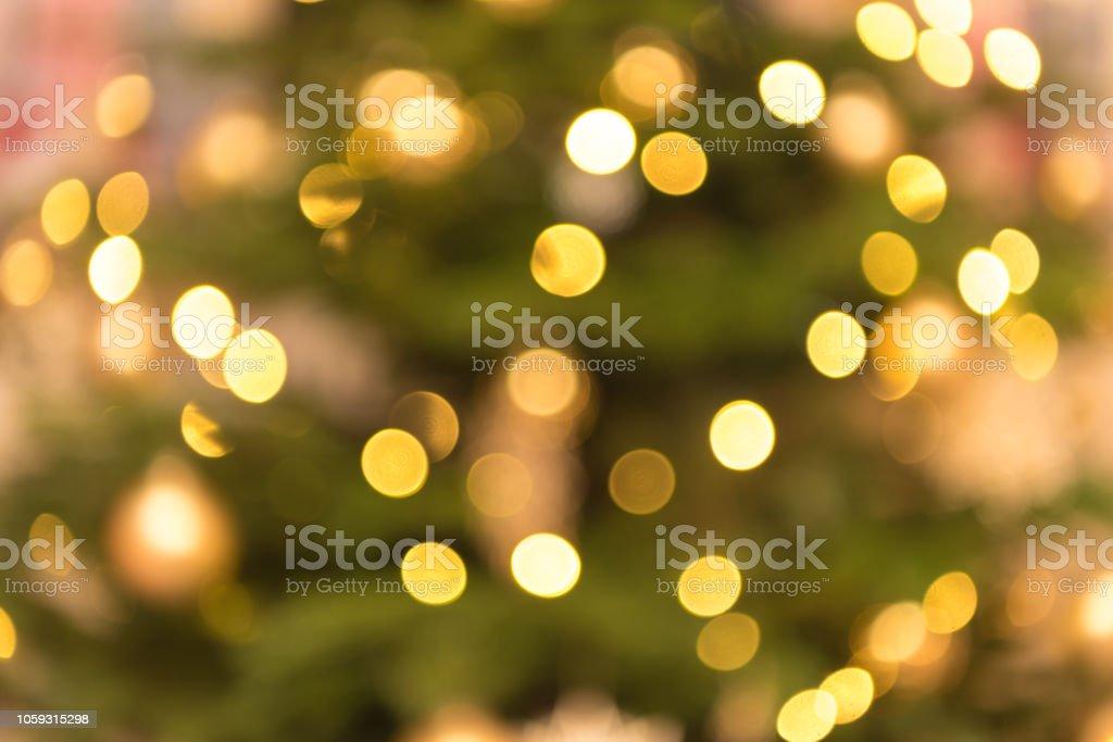 borradas ouro verde luzes de fundo - foto de acervo