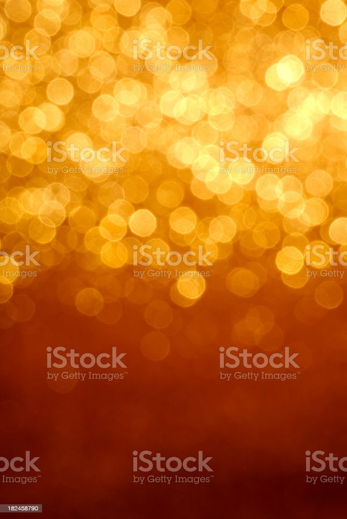 golden glitter luces foto de stock libre de derechos