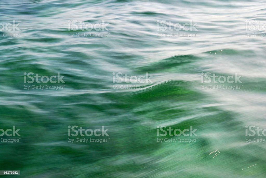 blurred green water surface royalty-free stock photo