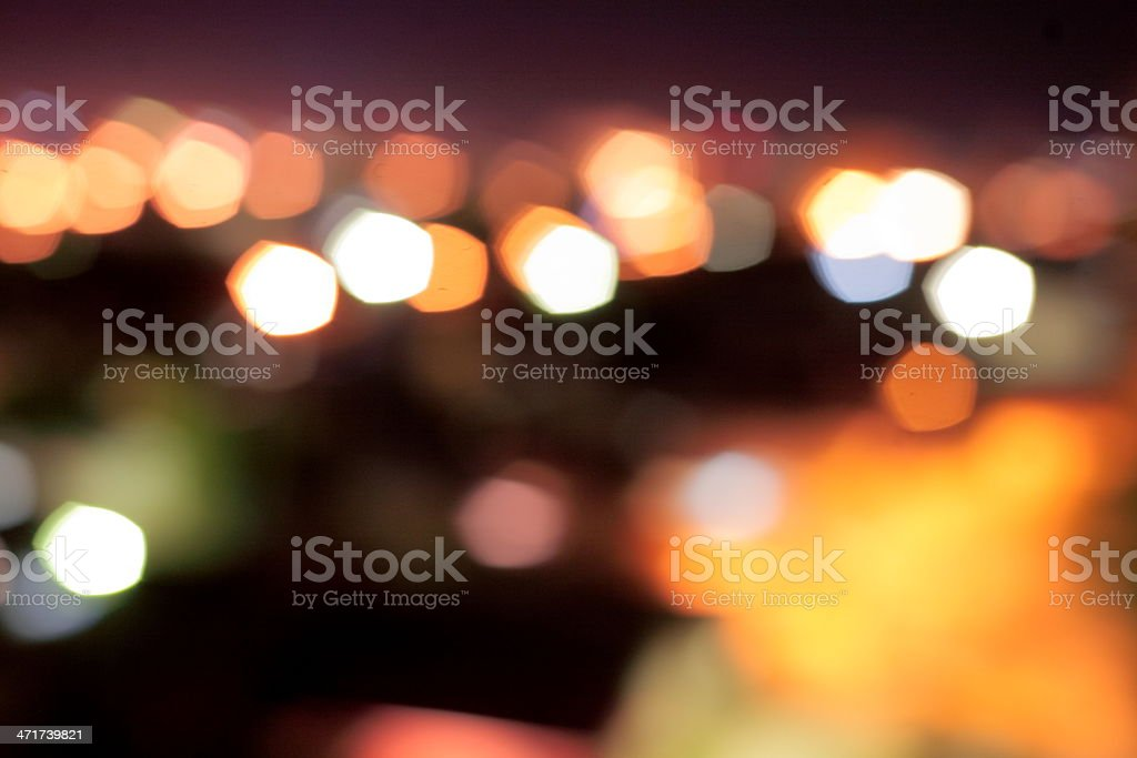 blurred holiday spots of light royalty-free stock photo