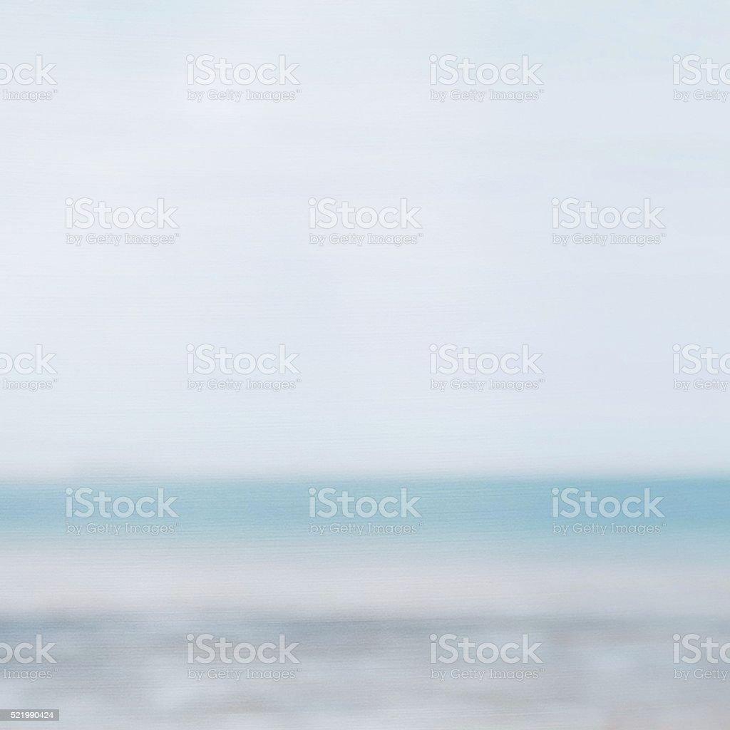 Blurred Horizon Abstract Paintbrush Effect Background stock photo