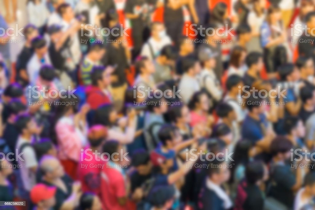 Blurred Image of People foto stock royalty-free