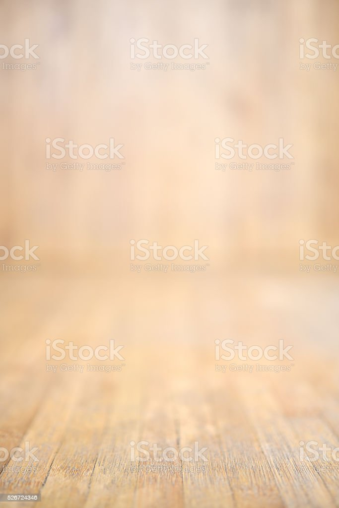 Blurred image of wooden background stock photo