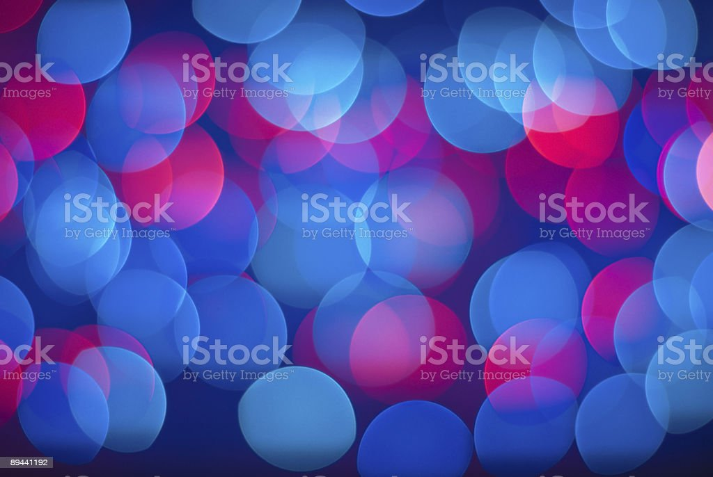 Blurred lights background. stock photo