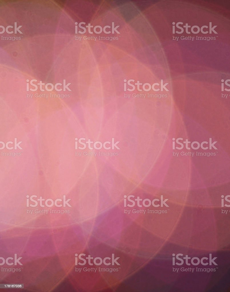 Blurred Lights on black royalty-free stock photo