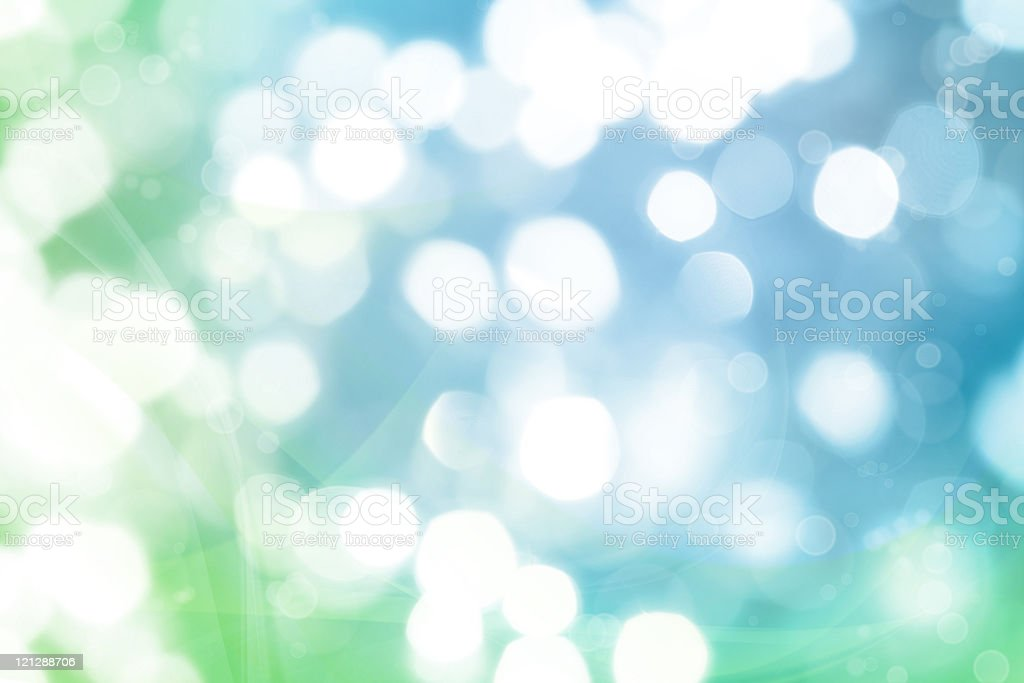 Blurred lights stock photo