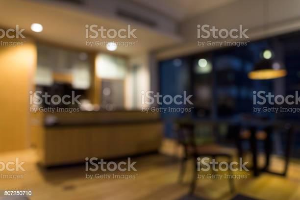 Blurred luxurious wooden and clean modern kitchen with glass counter picture id807250710?b=1&k=6&m=807250710&s=612x612&h=p bdhuwvw5ztpisqmpnowaapgckn3fzyi1zn25k0n84=