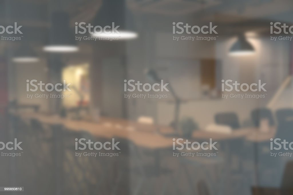 Blurred Modern Office Background Stock Photo Download Image Now