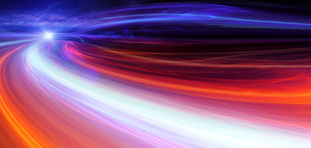 Blurred Motion Abstract Background stock photo