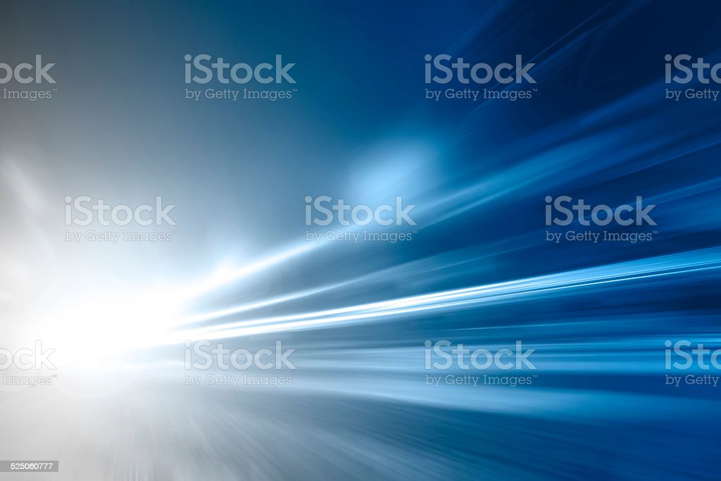 Blurred motion stock photo