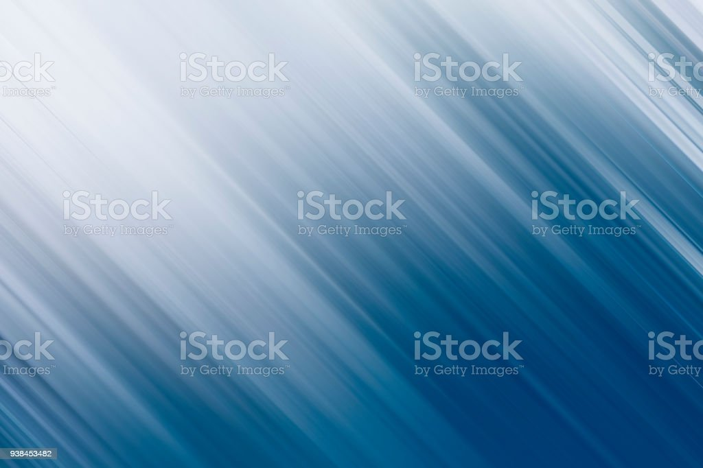 Blurred Motion White to Blue Abstract Background stock photo