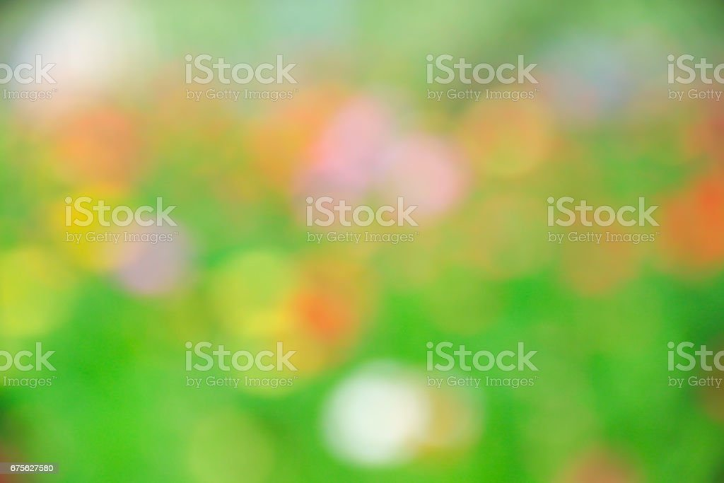 Blurred of abstrack colorful flower royalty-free stock photo