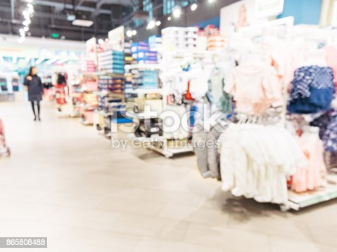 926078666 istock photo Blurred of kids toy store background 865808488