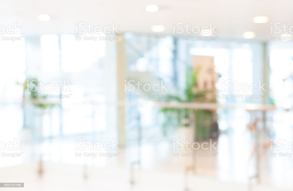 Blurred Office Background Stock Photo & More Pictures Of