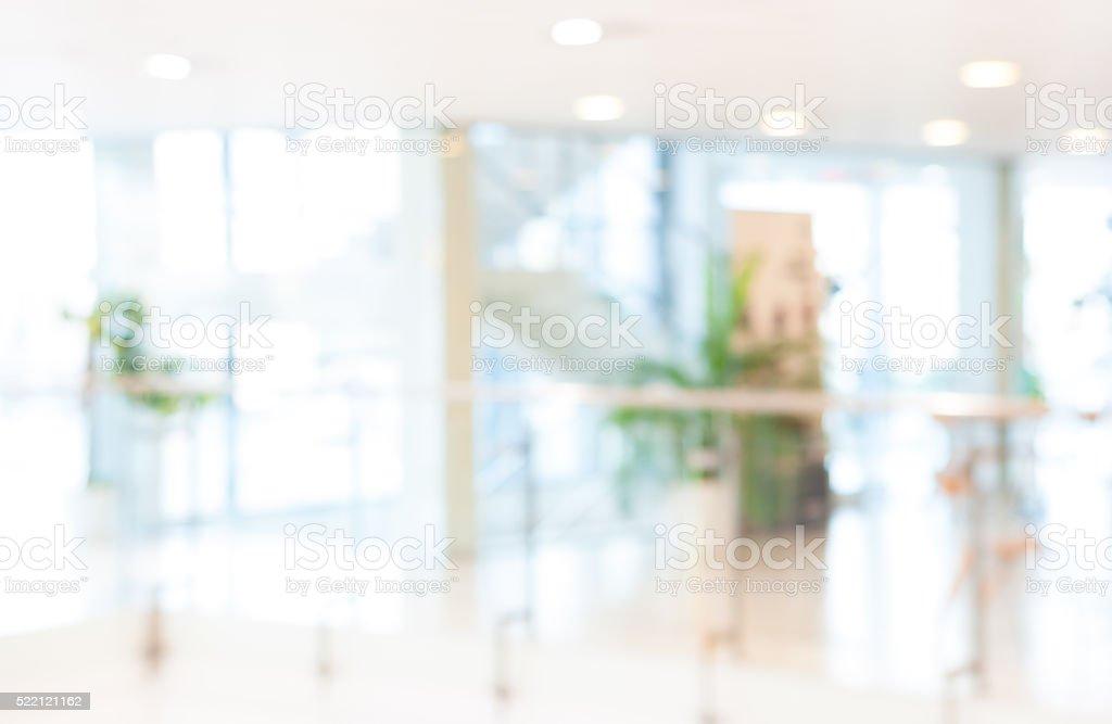 Borrosa fondo, oficina - foto de stock