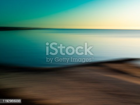 Tranquil Seascape on Cape Cod at Sunrise