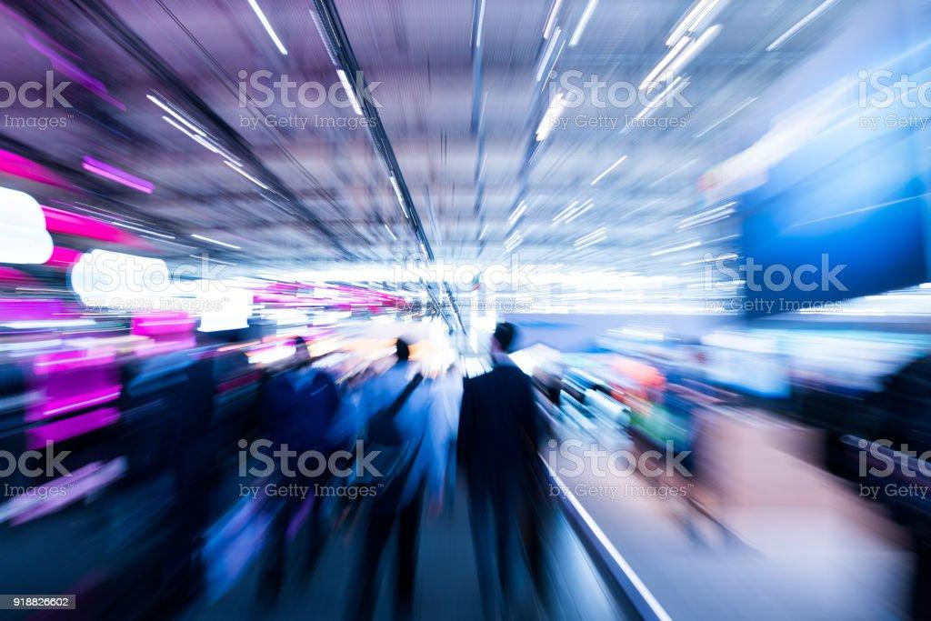 verschwommene Menschen Geschäftskonzept Lizenzfreies stock-foto