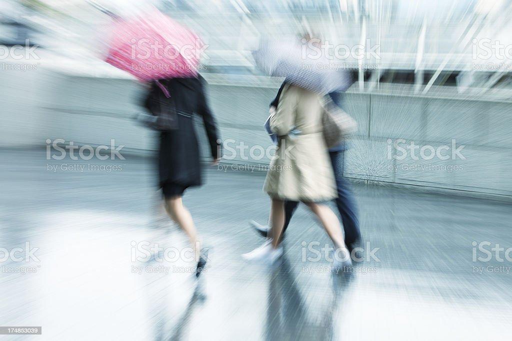 rainy day walk,