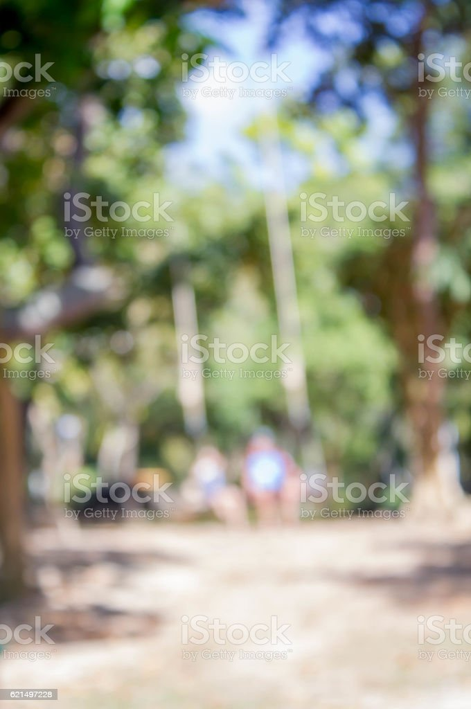 blurred photo of kids on swing foto stock royalty-free