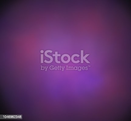 istock Blurred purple blue cloud. Fantasy fractal texture. Digital art. 3D rendering. Computer generated image. 1046962348