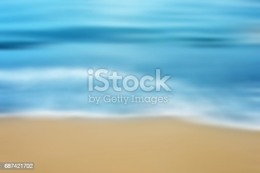 825992650 istock photo Blurred Seascape Background 687421702