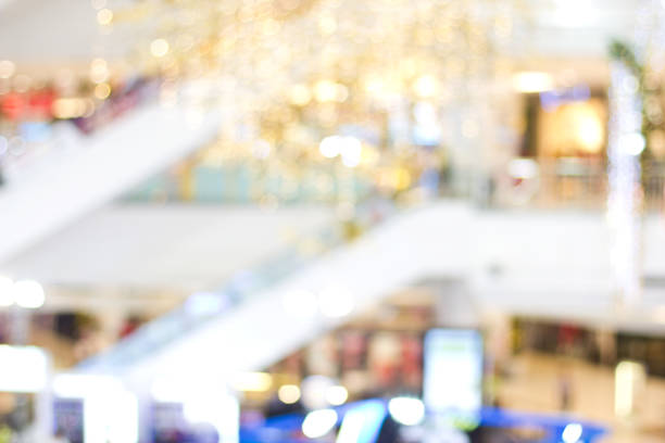 Blurred shopping mall for background Blurred shopping mall for background distribution center stock pictures, royalty-free photos & images