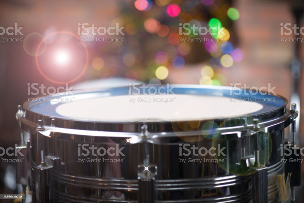 Blurred snare drum stock photo