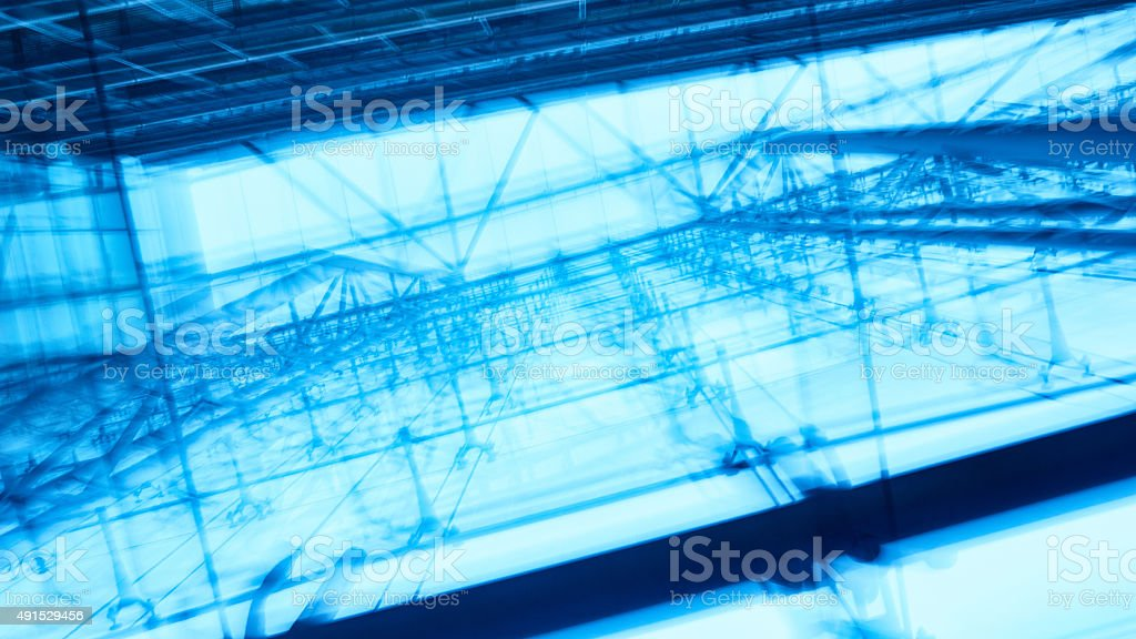 Blurred space stock photo