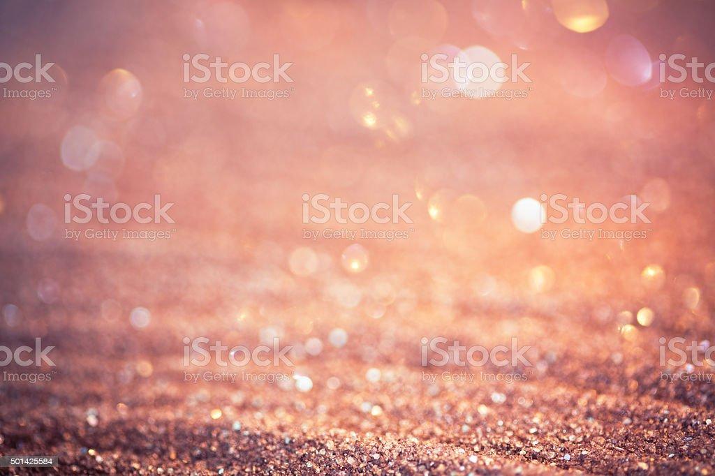 Blurred sparkle sand background stock photo